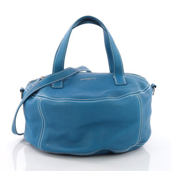 Balenciaga Air Hobo Leather Small Blue 371691