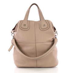 Givenchy Nightingale Tote Leather Large Pink 371812