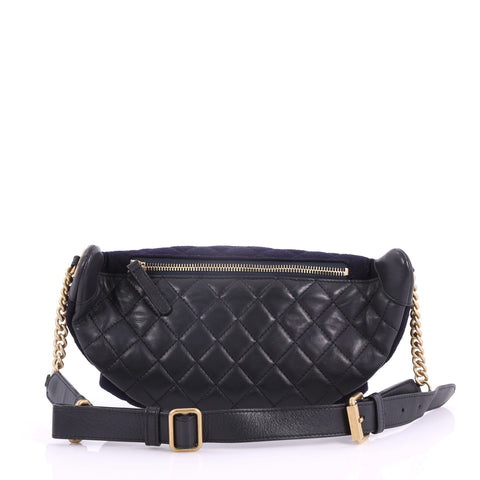 56619f83700 Paris-Hamburg Charms Waist Bag Quilted Wool and Lambskin
