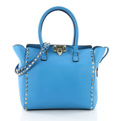 Rockstud Tote Rigid Leather Medium