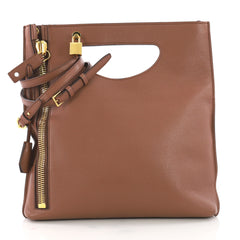Alix Fold Over Crossbody Bag Leather