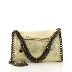 Falabella Fold Over Crossbody Bag Shaggy Deer Mini