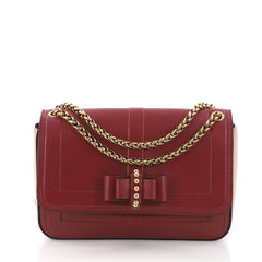 Christian Louboutin Model: Sweet Charity Shoulder Bag Leather Small Red 37316/130