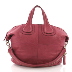 Givenchy Model: Nightingale Satchel Leather Medium Red  37316/200