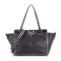 Valentino Model: Rockstud Tote Soft Leather Small Black 37316/56