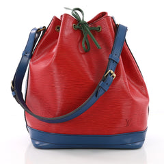 Tricolor Noe Handbag Epi Leather Large