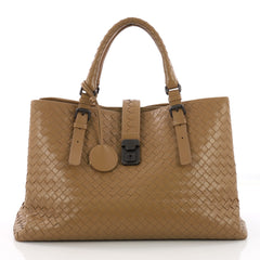 Bottega Veneta Roma Handbag Intrecciato Nappa Medium 3731679