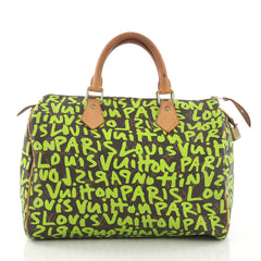 Louis Vuitton Speedy Handbag Limited Edition Monogram 373221