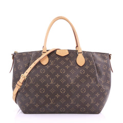 Louis Vuitton Turenne Handbag Monogram Canvas GM 373261