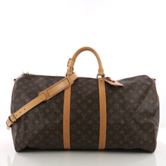 Louis Vuitton Keepall Bandouliere Bag Monogram Canvas 55 373271