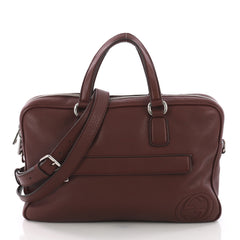 Gucci Model: Soho Briefcase Leather Purple 37362/2