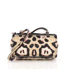 Givenchy Model: Pandora Bag Printed Leather Mini Neutral 37362/6