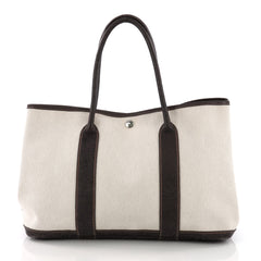 Hermes Garden Party Tote Toile and Leather 36 Neutral 3737024