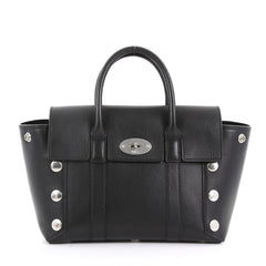 Mulberry Bayswater Satchel Leather with Studded Detail Small 373731