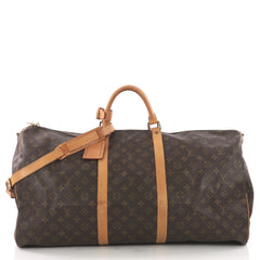 Louis Vuitton Keepall Bandouliere Bag Monogram Canvas 60 3745216