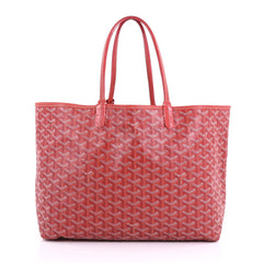 Goyard St. Louis Tote Coated Canvas PM Red 3745248