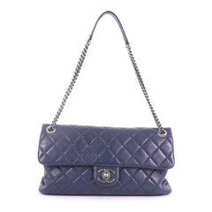 Chanel Aged CC Chain Flap Bag Quilted Calfskin Large 3746910