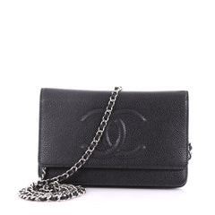 Chanel Timeless Wallet on Chain Caviar 3746934