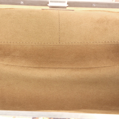 2b6f31503a4 Louis Vuitton. Crown Frame Tote Limited Edition Time Trunk Monogram Canvas