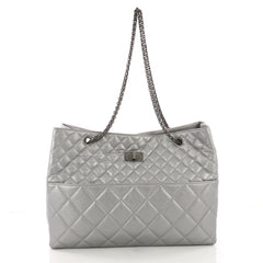 Chanel Reissue Tote Quilted Aged Calfskin East West 374871