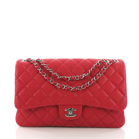 733a5096963d Chanel 3 Bag Quilted Lambskin Jumbo Pink 3752813 – Rebag