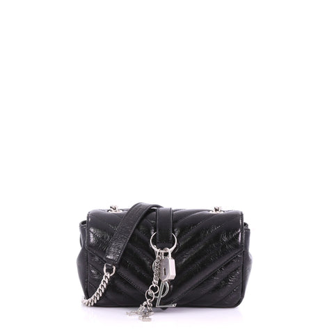 Saint Laurent Classic Monogram Punk Chain Bag Matelasse 376641 – Rebag b2b998ae11d72