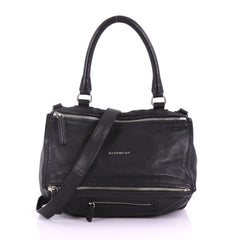 Givenchy Pandora Bag Leather Medium Black 376691