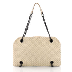 d501b514a6 Bottega Veneta Duo bag Intrecciato Nappa White 376871