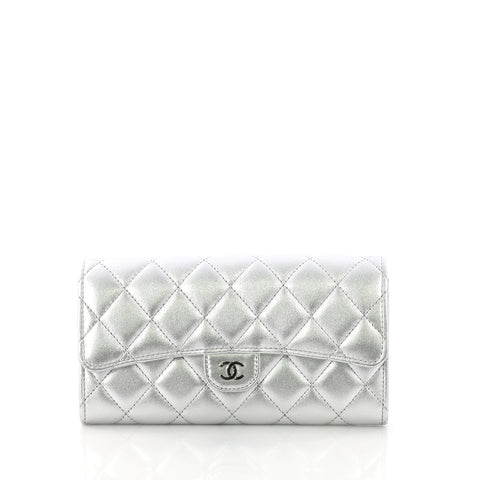 9f2a01f0dc11 Chanel CC Gusset Classic Flap Wallet Quilted Lambskin 3769020 – Rebag