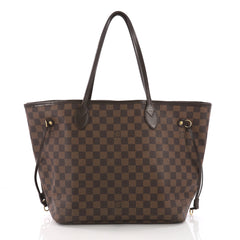 Louis Vuitton Neverfull Tote Damier MM Brown 377032