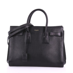 Saint Laurent Sac de Jour Handbag Leather Small - Rebag