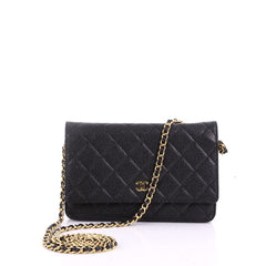 Chanel Wallet on Chain Quilted Caviar 3770843
