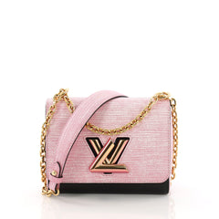 Louis Vuitton Model: Twist Handbag Epi Leather PM Pink 37708/71