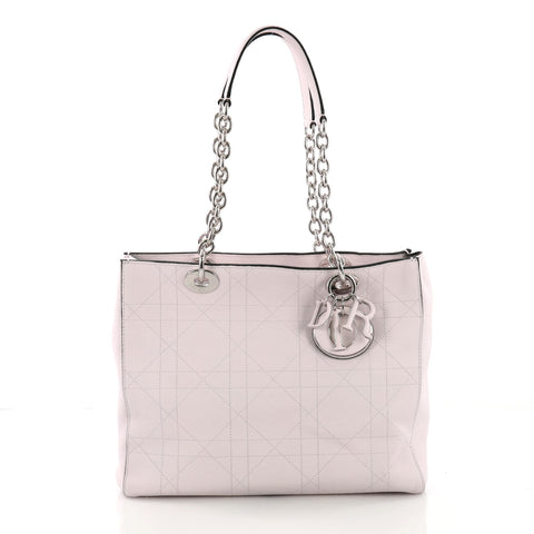 Christian Dior Ultradior Tote Stitched Cannage Grained Calfskin – Rebag 3f730f9316451