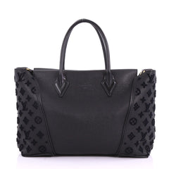 Louis Vuitton Model: W Tote Veau Cachemire Calfskin PM Black 37708/93