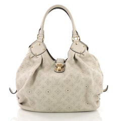 Louis Vuitton Model: L-Hobo Mahina Leather  Neutral 37719/1