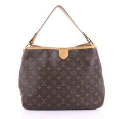 Louis Vuitton Model: Delightful Handbag Monogram Canvas PM  Brown 37719/28