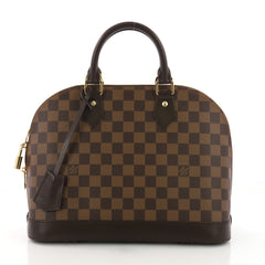 Louis Vuitton Model: Alma Handbag Damier PM  Brown 37720/1