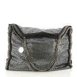 Stella McCartney Falabella Tote Studded Faux Suede Large 377221