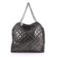Stella McCartney Falabella Tote Quilted Shaggy Deer 3774812