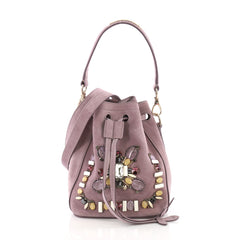 Ralph Lauren Collection Drawstring Bucket Bag Crystal and 378101