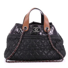 Chanel In The Mix Tote Quilted Iridescent Calfskin 3781711