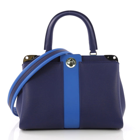 3be0e984a7e5 Louis Vuitton Astrid Handbag Leather Blue 378678 – Rebag