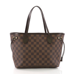 Louis Vuitton Neverfull Tote Damier PM Brown 3793524