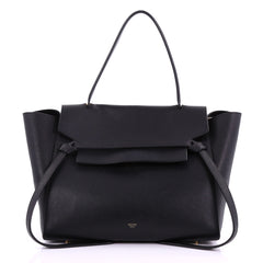 Celine Belt Bag Grainy Leather Mini Black 3794912