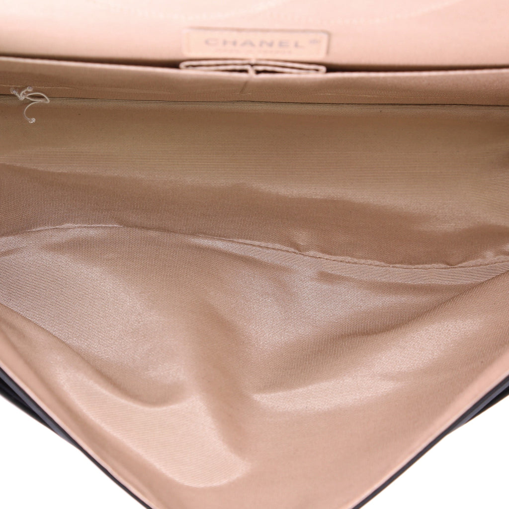 c051ba493407 Chanel 31 Rue Cambon Double Flap Bag Embossed Leather 3814528 – Rebag