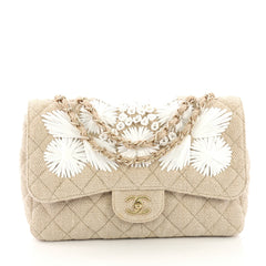 Chanel Country Coco Flap Bag Floral Embroidered Quilted 3814530