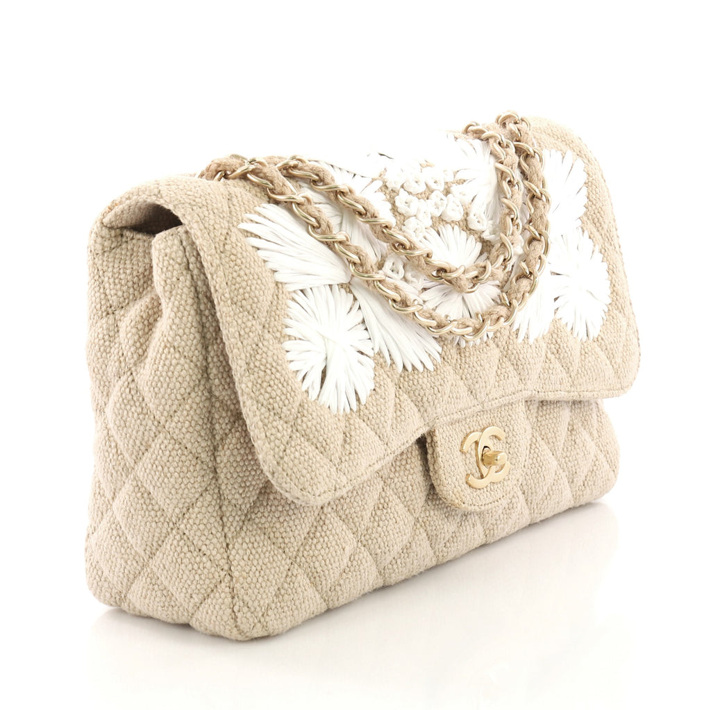 3cddf98ba43034 Chanel Country Coco Flap Bag Floral Embroidered Quilted 3814530 – Rebag