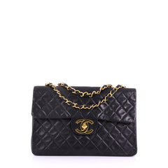 45446b7fb09d Chanel Vintage Classic Single Flap Bag Quilted Lambskin 3814535
