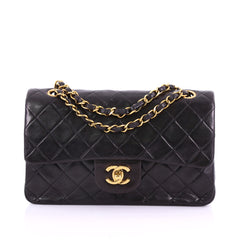 Chanel Vintage Classic Double Flap Bag Quilted Lambskin 3814550